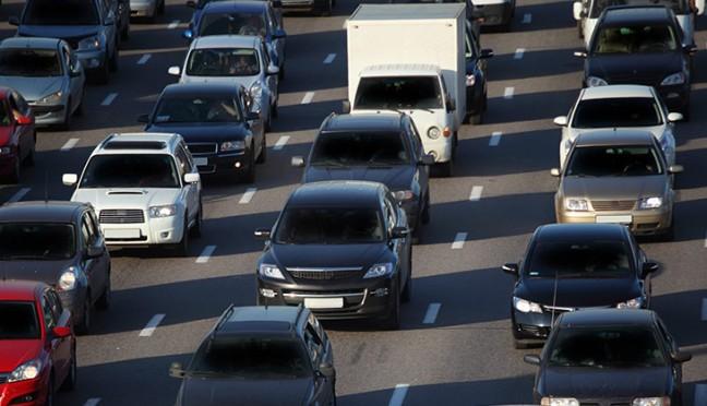 Staus auf deutschen Autobahnen