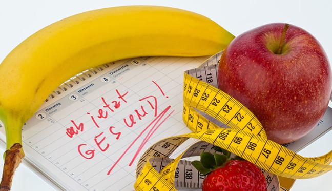 Gesund im neuen Jahr – wie gute Vorsätze umgesetzt werden können