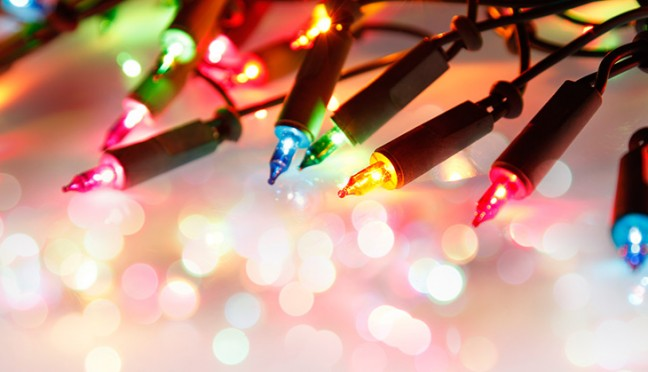 Lichterketten, stimmungsvolles Licht in der Winterzeit