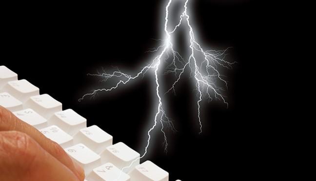 Den Computer vor Gewittern schützen