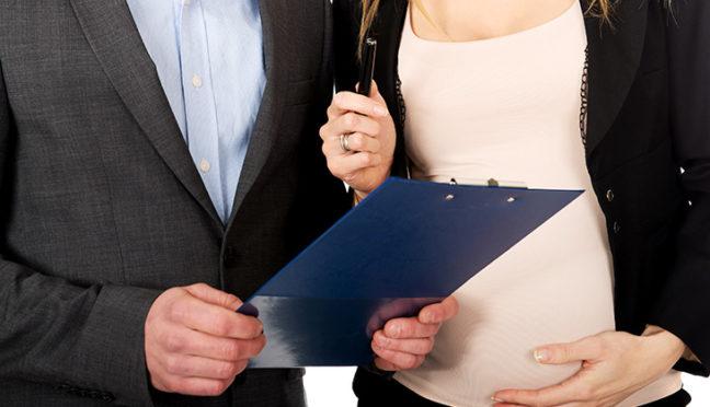 Wann muss der Arbeitgeber über die Schwangerschaft informiert werden?
