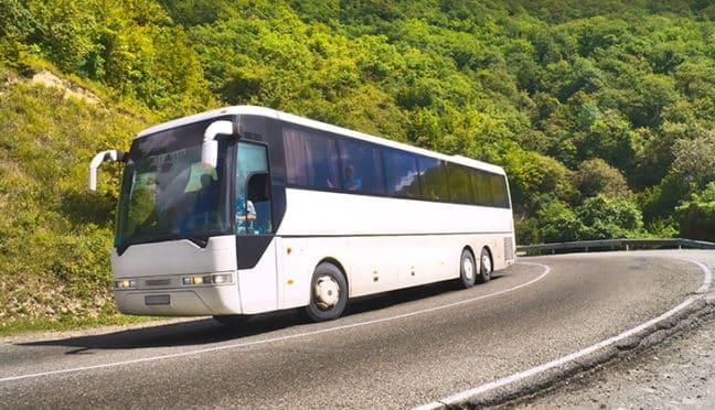 Mit dem Bus reisen, heißt entspannt reisen