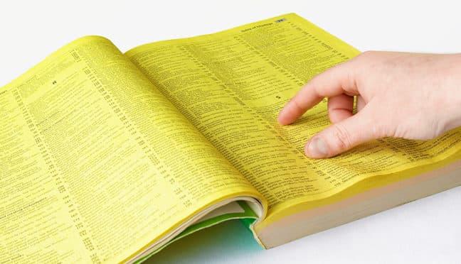 Gelbe Seiten – auch in Finanzdingen eine gute Wahl