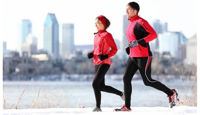 Laufen im Winter – auf die Technik kommt es an