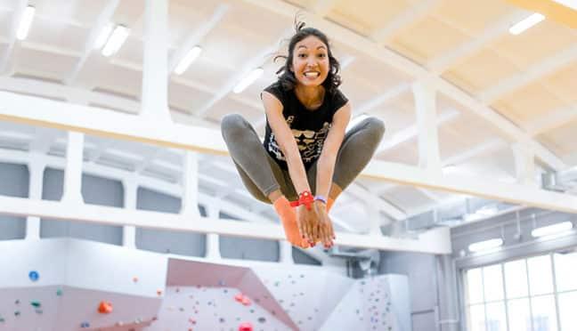 Trampolin springen – Wohltat für Körper und Seele