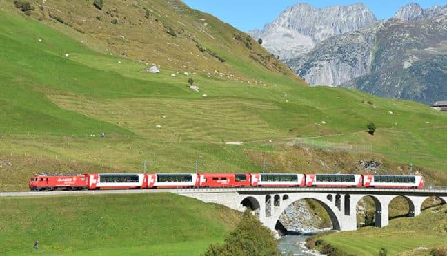Reisen mit dem Gotthard Panorama Express – ein unvergessliches Erlebnis