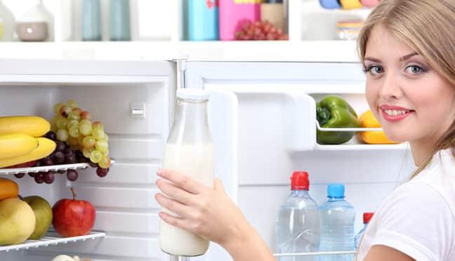 Milch, Eier, Käse – wo sollte was im Kühlschrank seinen Platz finden?