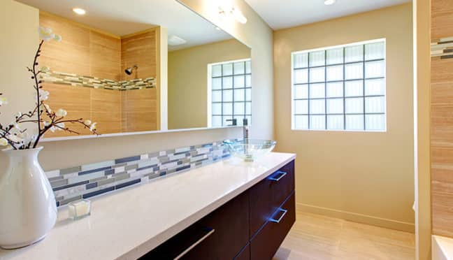 Badezimmerschränke richtig in Szene setzen