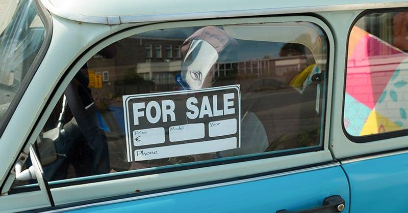 Was ist beim Verkauf des Autos zu beachten?
